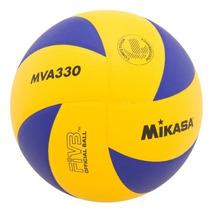 Mikasa Mva330 Spiral Balón De Voleibol Para Club, Azul/amari