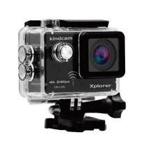 Câmera Esportiva Kindcam Xplorer 4k Wifi Xp001 Preta