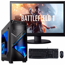Cpu Gamer Nueva Era I3 7100 Ddr4 8gb 1tb Gtx 1050 Led 24