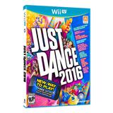 Just Dance 2016 Wii U Videojuego Físico Baila Y Ejercita!