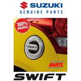 Tapa Tanque Combustible Cromada Original Para Suzuki Swift