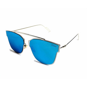 Oculos De Sol Feminino 0204 Slim Leve Uv400 Espelhado