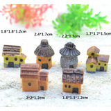 06 Casa Terrários Mini Jardim Miniatura Casinhas Maquetes