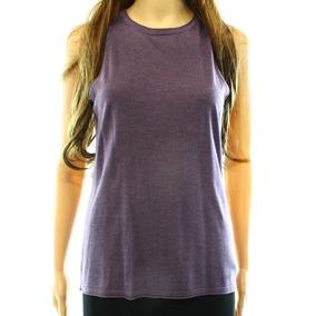 Lauren Ralph Lauren New Solid Purple Womens Size Medium M Kn