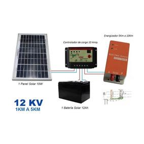 Kit Solar Cerco Eléctrico Ganadero De 1 A 5 Km. Envío Gratis