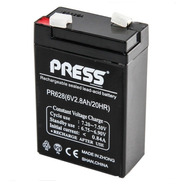 Bateria Sellada Press 6v 2.8a Luz Emergencia Alarma Ups