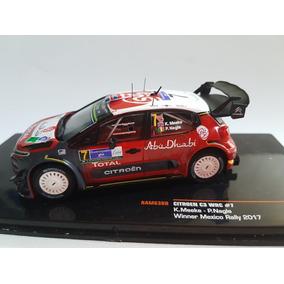 Wrc Citroen Kris Meeke Ganador Rally México Firmado! No Loeb