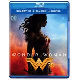 Blu-ray Wonder Woman / Mujer Maravilla (2017) 3d + 2d