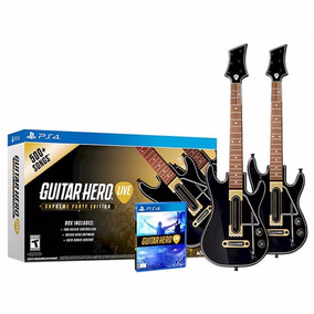 Guitar Hero Live Ps4 + 2 Guitarras + 500 Canciones Cuotas