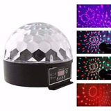 Globo Bola Maluca Led Rgb Crystalball Mp3 Led Magic Dmx