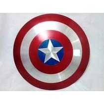 Escudo De Capitão América Alça De Couro