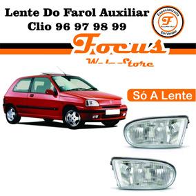 Lente Do Farol Auxiliar Clio 96 97 98 99
