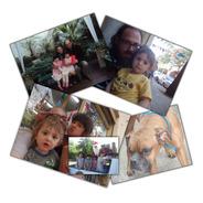 Impresión De Foto Digital 15x15 Y 8 Fotos 10x10 Cuadradas