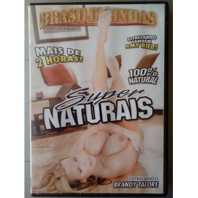 Dvd Pornô Brasileirinhas : Super Naturais ( Original )