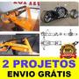 Projeto Curvadora De Tubos + Projeto Triciclo Reverso