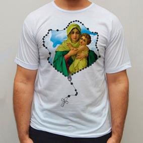 Blusa Nossa Senhora Mãe Rainha Religiosa Camisa