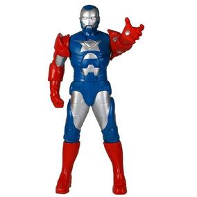 Boneco Iron Man Patriot Gigante Premium