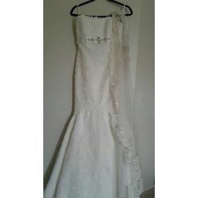 Vestido De Novia Corte Sirena Color Ivory