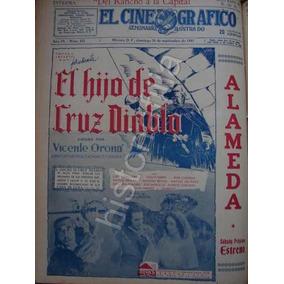 Publicidad Antigua Pelicula El Hijo De Cruz Diablo 1941 Cine