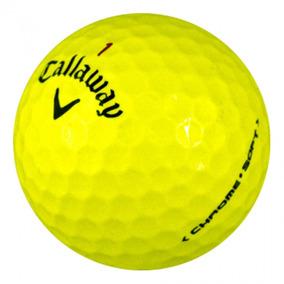 Callaway Store 12 Pelotas Callaway Chrome Soft Yellow