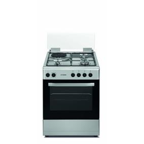 Cocina 4 Hornallas Combinada Hyundai Hyccix60f1d