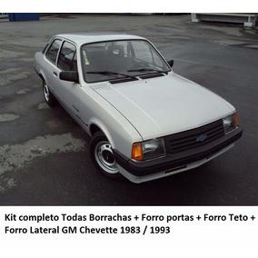 Kit Restauração Chevette 83/93 Borrachas +forro Porta + Teto