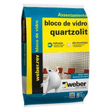 Argamassa Quartzolit - Tijolo De Vidro 5kg