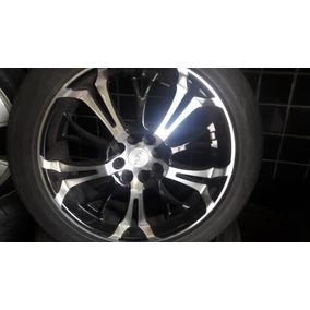 Jogo De Roda 17 4x100x108 C/pneu Ecosport Peugeot 307 1.6