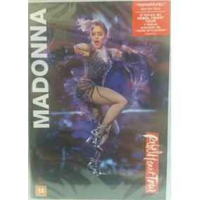 Dvd Madonna Rebel Heart Tour Original E Lacrado