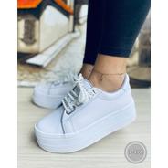 Tenis Zapatillas De Plataforma Mujer Moda Envió Gratis Nuevo