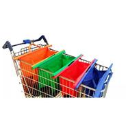 Set 4 Bolsas Carrito Changuito Super Bags Trolley - La Mejor