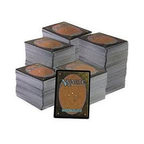 Lote De 100 Cartas Comuns De Magic The Gathering / Mtg