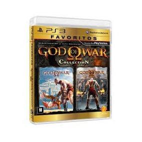 God Of War Collection Ps3 Seminovo Em Bom Estado