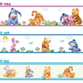 Faixa Decorativa Adesivo Parede Infantil Bebe Pooh