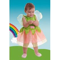 Disfraz Hada Primavera Para Bebes Con Alas Hermoso! Jiujim