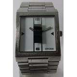 Reloj Stone Modelo Infinity Quartz Acero Original Garantia
