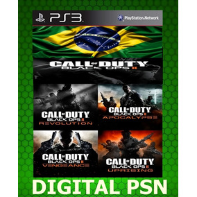 Ps3 Todas As Dlcs De Call Of Duty Black Ops 2 Pt-br Psn Ps3