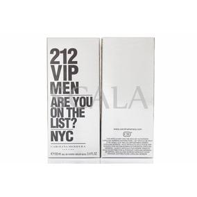 Perfume 212 Vip Men 100ml+2 Amostra Nova Embalagem Original