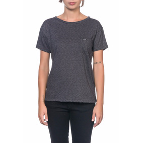 Remera Volcom Mujer Solid Pocket Stone Row Tee