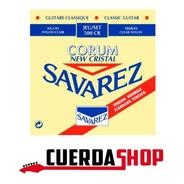 Cuerdas Clasica Savarez 500 Cr Tension Normal