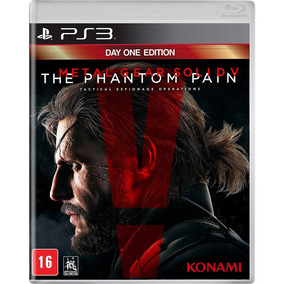Jogo Ps3 Metal Gear Solid 5 Seminovo Original Playstation