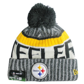 Bonete New Era Nfl17 Steelers Osfa
