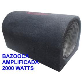 Bajo Doble Bobina 10 Pulg Amplificada 2000 Wats Bazooca Plan