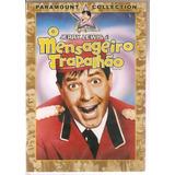 Dvd O Mensageiro Trapalhão - Jerry Lewis - Original Lacrado