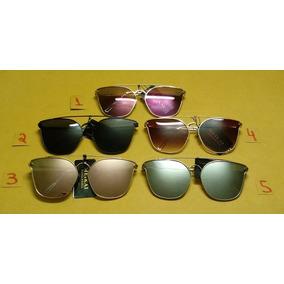 a2a8a90464183 Espelho Olho De Gato Quadrado - Óculos no Mercado Livre Brasil