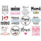 100 Plantillas Mama Digital Frases Sublimacion Taza Frasco