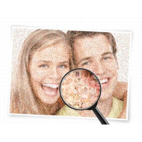 Impresion Foto Mosaico, Imagen Con Fotos Pequeñas Impresion