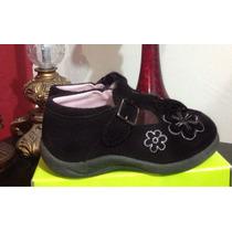 Zapato Gamuza Bebe 5 Usa 11cm Fashion Niña Fiesta Remate