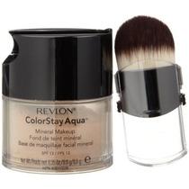 Maquillaje Revlon Colorstay De Aqua Mineral, Medio Profundo