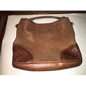 Bolsa Gucci Signature Hobo Original Piel